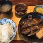 麒麟 - 魚煮付け定食1300円