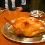 38442992 - 鶏の姿焼き