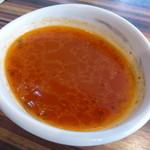 38445020 - ランチのスープ(魚&トマト)