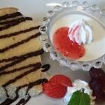CafE`s-Kitchen LinkS - シフォンケーキとパンナコッタ