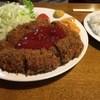ボリューム亭 - 料理写真:メンチカツ定食