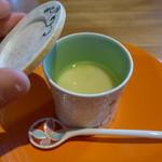 いち凛 - ブルーチーズの茶碗蒸し