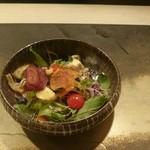 濤﨑 - 最初に出てくる15種類のサラダ