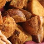 天橋立ワイナリー - 米粉パンの揚げパン きな粉・シナモン