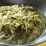 天橋立ワイナリー - 藤原さんの水菜の煮びたし
