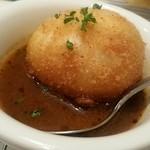 串揚 カラット - ゆで玉子 スープカレー仕立て