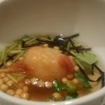 串揚 カラット - ご飯の串揚げ       お茶漬け