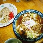 釜彦 - スープ焼きそばとチャーハン