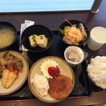 スーパーホテル - 料理写真:健康朝食はメニューも優しいですね(*^o^*)