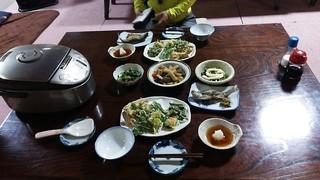 美濃戸山荘 - 八ヶ岳の天然の山菜が満載の素晴らしい食事