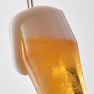 生ビール飲み放題お1人様¥1,500