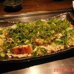 38466160 - 3800円コース 4品目 ◆厚切りベーコンえのきポン酢