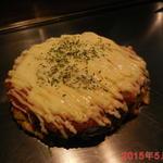 38466162 - 3800円コース 5品目 ◆トマトソースとチーズのお好み焼き