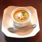 麺dining けいず - 手作り!滑らかプリン250円