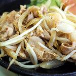 浜乃家 - なんか・・・上品な生姜焼き。めっちゃ美味しかったです!