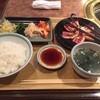 Yakinikumeiseikan - 料理写真:カルビランチ(\880)