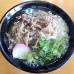 岡製麺所 - 肉うどん