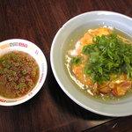 チャイナ秀 - 「天津丼(スープつき)」600円