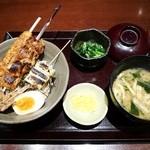 鳥どり - 串焼き!焼鳥丼¥900
