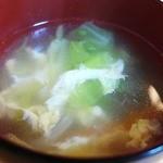 ますや食堂 - スープ