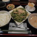 沖縄料理 ちゅらさん家 - ゴーヤチャンプル定食 ¥750-→¥500-