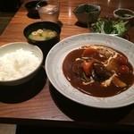 38473929 - 夏野菜たっぷりビーフシチュー
