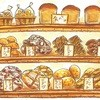 円麦 - 料理写真:有機小麦のパン