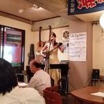沖縄風居酒屋 グルくん - ライブです。