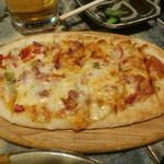 ビヤガーデン 博多屋 - ピザ