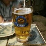 ビヤガーデン 博多屋 - 子供ビール。アップルジュースの味です