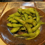 ビヤガーデン 博多屋 - 枝豆