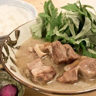県産食材を使用した料理の数々
