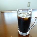 しょくらく宗 小三 - 2014年8月 サービスのアイスコーヒーいただきました♪