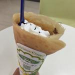 ディッパーダン - アイスチョコクレープ