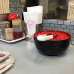 一久 - 山盛りの紅ショウガd(^_^o)