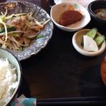 和cafe93 - 料理写真:豚もやし¥1000