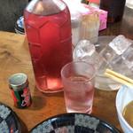 38481768 - 赤の角瓶