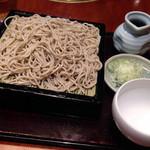 紅葉川 - もり蕎麦(大)