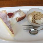 フォレストガーデン - プチデザート3種盛り