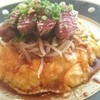 勝乃屋 - 料理写真:ステーキのせオムライス(税込1500円)