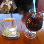 葡萄酒キッチンバルCasares - アイスコーヒー
