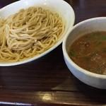 つけ麺 ちっちょ極 - 牛ホルモンつけ麺(特盛)