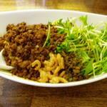 四川担担麺 阿吽 - つゆ無し坦坦麺(2辛)830円