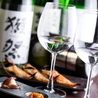 有名!希少な日本酒多数!品ぞろえには確かな自信♪