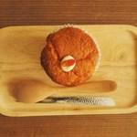 ねじまき雲(陽) - 杏仁カップケーキは杏露酒が効いています