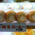 ヒマラヤのケーキ - 純生ロール \330(1個)