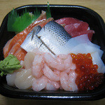 笹舟 丼丸 - 海鮮丼 具2倍