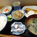 ふる里 - さば定食(750円)