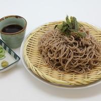 味の蔵 - フードコートメニュー「ざるそば」人気お値打ちメニュー 620円