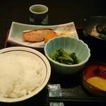 笑福 - 笑福定食750円(税込)